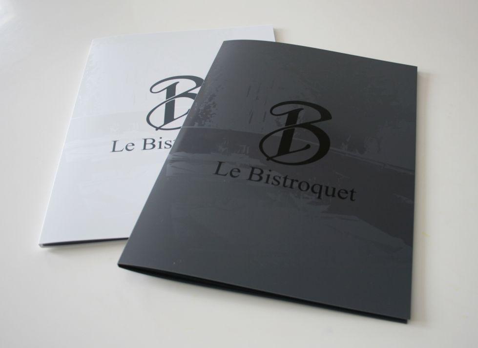 Bistroquet Restaurant Porte Menu En PVC à Aix En Provence Com - Porte menu restaurant