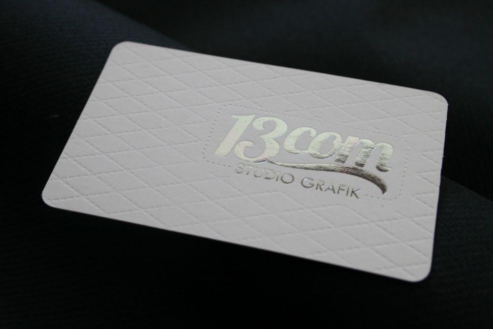 Carte De Visite Haut Gamme 600gr Blanc A Saint Tropez 83