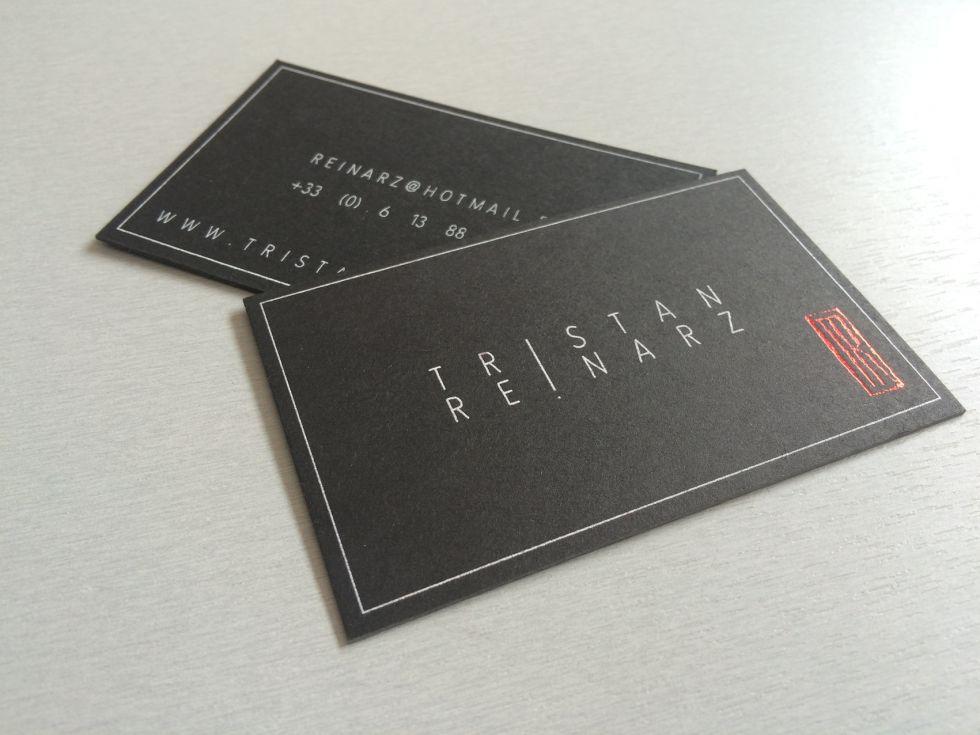 Original Business Card Pour Chef Dentreprise Lyon 69 Carte De Visite Noire Et Unique